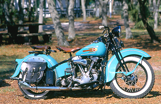 "Harley-Davidson 1000 Model E ""Knucklehead"""