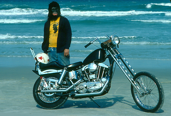 Custom-Bike Bike Week Daytona Beach Foto Winni Scheibe