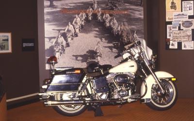Maschine gebaut in allen us staaten wurde das bike von der polizei