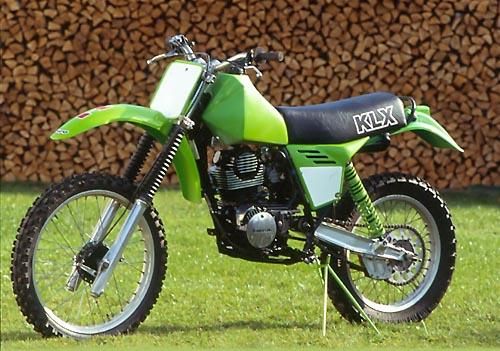Hubert gaß offroad bike kawasaki klx250